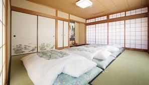 Traditional Japanese Bedroom - seibido inn premium room