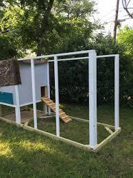 dallas urban coop single slope design backyard chickens