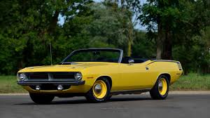 lexus yellow convertible 1970 plymouth hemi cuda convertible f109 kissimmee 2016