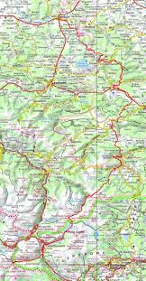 Andorra Map Hiking From Mirepoix Ariege To Portella Blanca Of Andorra