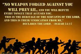 god is my vindication isaiah 54 lord thanksgiving bible