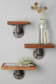 Wooden Shelf Building by Best 25 Plumbing Pipe Shelves Ideas On Pinterest Pipe Shelves