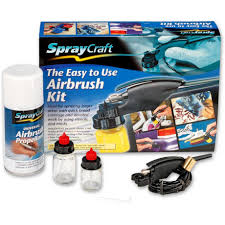 spraycraft sp10k easy to use airbrush kit air brushes air