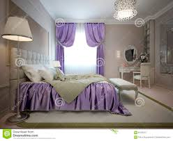 master bedroom neoclassical style stock illustration image 61335757