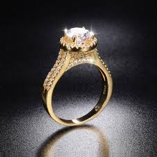 real wedding rings images Promotion real solid 100 925 silver gold wedding rings jpg