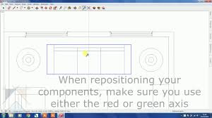 sketchup for interior design furniture layout youtube