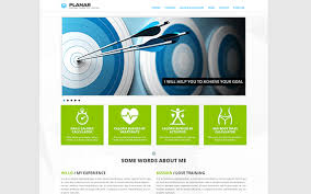 bootstrap sites templates planar personal trainer site template other bootstrap