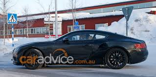 bentley supercar 2017 2017 bentley continental gt spied during cold weather testing