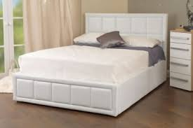 White Ottoman Bed Buy Ottoman Beds From Bedworld Free Delivery