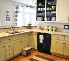 Distressed Painted Kitchen Cabinets Photos Of Decorating Above Kitchen Cabinets Distressed Paint Chalk