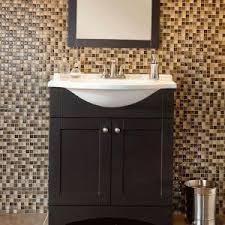 Glacier Bay Bathroom Cabinets with Glacier Bay Del Mar 30 In W X 19 In D Bath Vanity In Espresso