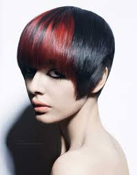 full forward short hair styles face framing short hairstyle with a curved fringe