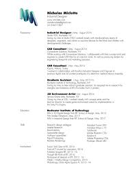 Medical Device Resume Resume U2014 Nik Miclette Industrial Designer