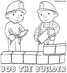 bob builder coloring pages coloring pages download print
