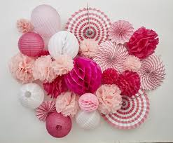 valentines day decor s day paper party pack s day decor ideas