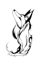 9 stunning tribal fox tattoos only tribal