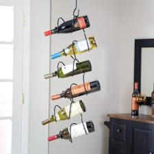 rack hanging wine rack for inspiring unique storage design ideas