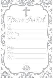 blank invitations wilton faith cross invitations kitchen dining