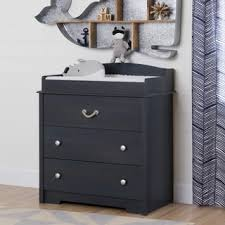 South Shore Changing Table South Shore Aviron Blueberry Changing Table With Drawers Free