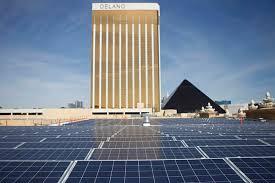 mgm resorts will use solar array to power las vegas casinos las