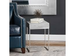 uttermost accent tables uttermost accent furniture jude concrete accent table miskelly
