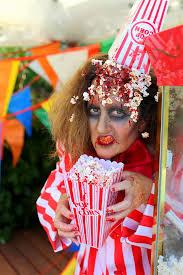Halloween Circus Costumes Halloween Makeup Costume Ideas Popcorn Attendant