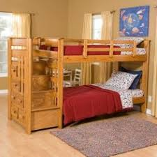 kaitlyn twin over twin bunk bed with stairs products pinterest