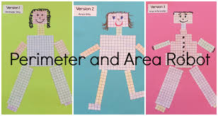 perimeter and area robots ashleigh u0027s education journey