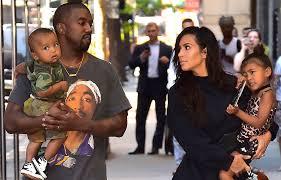 kim kardashian west wears oversize blazer as a dress to nyfw party