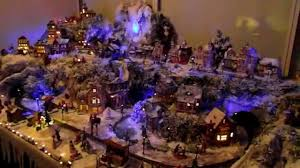 christmas village lemax miniature selfmade 2012 youtube