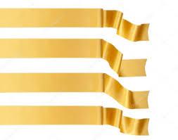 gold ribbon gold ribbon stock photo tribal 6645442