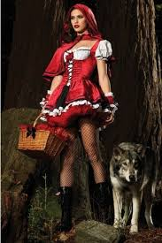 White Corset Halloween Costumes Red Riding Hood Costume White Red Corset Dress