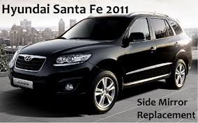 hyundai santa fe 2007 black hyundai santa fe 2011 mirror replacement