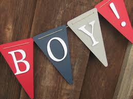 Baby Boy Shower Decorations by Its A Boy Banner Baby Shower Banner Baby Shower Decorations