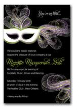 masquerade wedding invitations invitation wording sles by invitationconsultants mardi