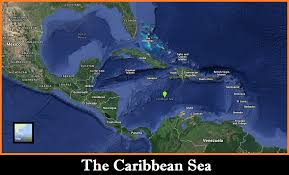 Map Caribbean Sea by Maps History Of Pirates Podcast