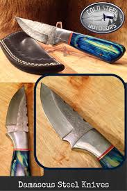 59 best knives multitools images on pinterest damascus steel big sky hunter from cold steel outdoors world class damascus steel hunting