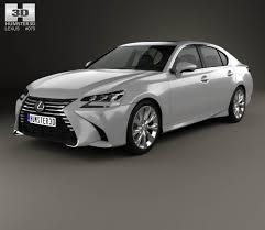 lexus sedan models 2015 lexus gs 350 2015 3d model hum3d