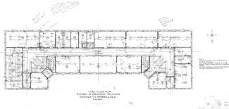 Building Plans Images Unl Historic Buildings Bessey Hall Building Plans