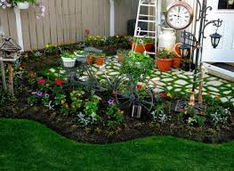Garden Decorating Ideas Garden Decor Tips On The Design With The Right Sketch