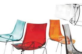 Plastic See Through Chair Metal Chair With Plastic Transparent Seat Idfdesign