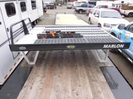used 2015 marlon sled deck sport deck truck bed trailers nw
