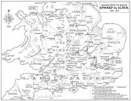 Kent England Map by Maps Of Anglo Saxon England Kemble