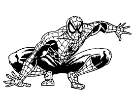 colour drawing free wallpaper printable spiderman coloring