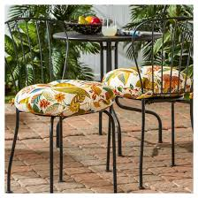 Outdoor Bistro Chair Cushions Outdoor Bistro Chair Cushion Set Esprit Greendale Home