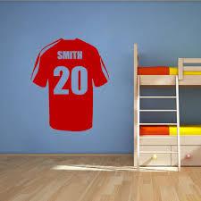 aliexpress com buy personalised name football soccer shirt vinyl