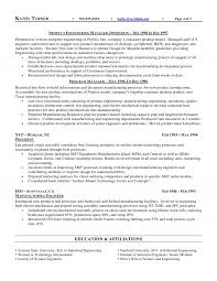 Manufacturing Experience Resume Executive Resume