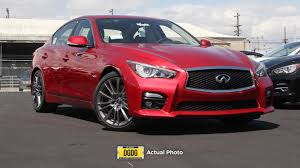 lexus at stevens creek service new 2017 infiniti q50 red sport 400 4dr car in santa clara