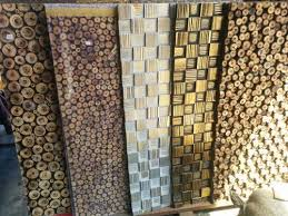 wooden wall panels wood log wall panel at rs 180 wooden wall panel id
