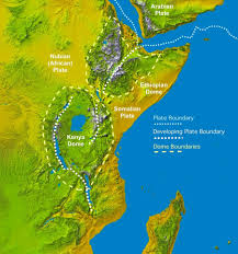 Africa On The Map by East Africa U0027s Great Rift Valley A Complex Rift System